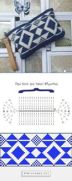 crochet clutch bag schema에 대한 이미지 검색결과