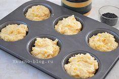 Рецепт сырных маффинов