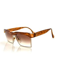Vintage+Oversized+Square+Sunglasses,+Light+Brown+by+Christian+Lacroix+at+Neiman+Marcus.
