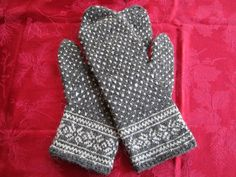 Ravelry: Setesdal Mittens pattern by Marcia Lewandowski