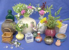 Have fun with Miniature Flower Arranging. Its fast, fun and fabulous!