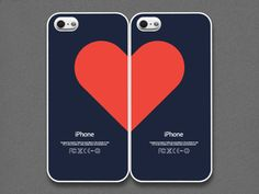 iPhone Love Case for Couples.