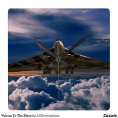 Vulcan To The Skies Square Wallclock