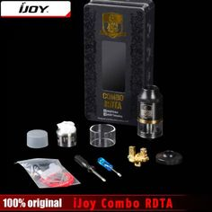 Cheap sub ohm tank atomizer, Buy Quality tank atomizer directly from China sub ohm tank Suppliers: Original iJoy Combo RDTA RDA & Combo RDTA 2 Vape Sub Ohm Tank Atomizer e-Juice Capacity With Side Filling System Rda, Filling System, Vape, Consumer Electronics, Cool Things To Buy, The 100, The Originals, Tank Tank, Electronic Cigarettes