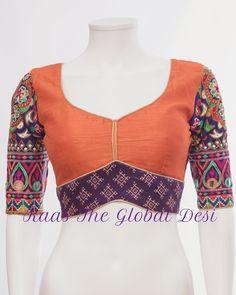 Kids Blouse Designs, Sari Blouse Designs, Designer Blouse Patterns, Dress Neck Designs, Skirt Patterns, Coat Patterns, Clothes Patterns, Design Patterns, Kalamkari Dresses