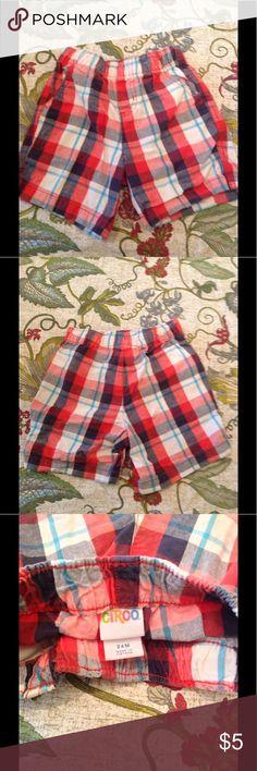 Circo 24 m Shorts Cute Plaid Adorable Shorts great condition Circo Bottoms Shorts