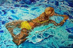 "Saatchi Art Artist Paolo Terdich; Painting, ""Acqua 18"" #art"