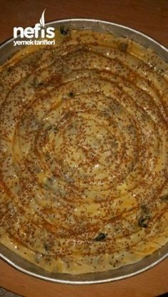 Spinach pie with vinegar leavens (hand Trench), Easy Cake Recipes, Healthy Dinner Recipes, Cooking Recipes, Turkish Recipes, Indian Food Recipes, Ethnic Recipes, Spinach Pie, Vegan Curry, Vegan Meal Prep