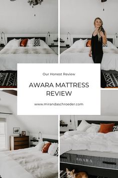 Buying a mattress online has become super common, but it can also be a little tricky. We have bought four different mattresses online & all of them have been great, but our new Awara mattress takes the cake! www.mirandaschroeder.com