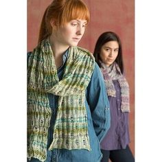 Check out Classic Elite Yarns Bella Lino Drop Stitch Scarf (Free) at WEBS | Yarn.com.