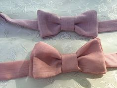 Boys Bow Ties, Boys Pink Bow Tie, Boys Rose Bow Tie, Boys Pink Bow Tie, Toddler Bow Ties, Wedding Ring Bearer, Baptism, Page Boy by LittleQueenBowtique on Etsy