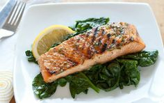 Pinterest | Whole Foods Market Grilled Salmon with Basil Lemon Butter