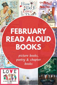 Best books to read aloud as a family in February, including love and kindness themed books, fairy tales and poetry. Great choices for all age groups. Read Aloud Books, Best Books To Read, Good Books, Children's Books, Best Children Books, Toddler Books, Literacy Games, Book Activities, Songs For Toddlers