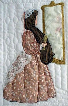 """#4 """"Daily Living Activities for the Bonnet Girls"""" Mirror- Mirror Pattern $6.50…"""