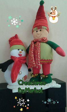 Nieve y amigo