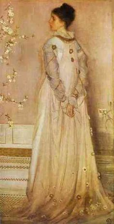 "artist-whistler: ""Symphony in Flesh Colour and Pink: Portrait of Mrs Frances Leyland, James McNeill Whistler Medium: oil,canvas"" James Abbott Mcneill Whistler, Woman Painting, Figure Painting, Tea Gown, Portraits, Manet, Art For Art Sake, Singer Sargent, American Artists"