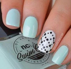 There are lots of easy nail designs for short nails. There are lots of easy nail designs for short nails. Today we present to your attention the freshest ideas in the world of nail art! Pretty Nail Designs, Diy Nail Designs, Short Nail Designs, Simple Nail Designs, Nail Designs Summer Easy, Cute Nail Art, Easy Nail Art, Cute Nails, Pretty Nails