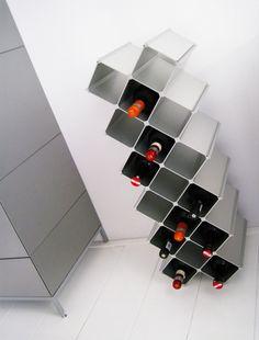 Mueble para botellas de vino botelleros pinterest - Botelleros de diseno ...