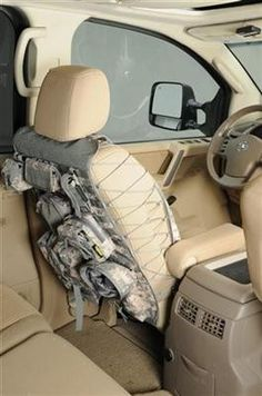 Green Camouflage Camo Waterproof Car //Van Twin Front Seat Covesr Protectors ARMY