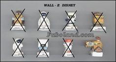 Wall e 2009 disney porcelain french feves
