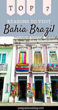 Why There's More in Bahia Brazil than stunning beaches | Salvador Brazil facts | #Salvador Carnival #BahiaBrazil #SouthAmerica #BrazilTravel #Brazil