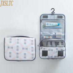 5fdc5b0c5 5.95 31% de DESCUENTO De moda de las mujeres, bolso cosmético, cajas de  cosméticos organizador de Viaje unisex colgante bolsa de maquillaje de  viaje kit de ...