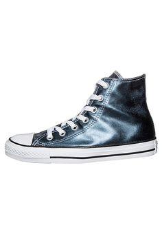Converse CHUCK TAYLOR ALL STAR - Sneaker high - blue metallic/white für 69,95 € (05.01.18) versandkostenfrei bei Zalando bestellen.