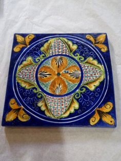 Island of Capri Collection of handcrafted and hand painted italian style ceramic tile. Kitchen tile. San Diego. Contact us at mexicanarttile.com or (877) 817 8851