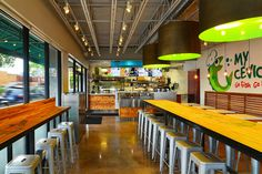 My Ceviche fast food by ID & Design International, Miami – Florida » Retail Design Blog