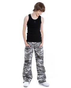 DanceNwear Mens Cotton Blend Footed Tight