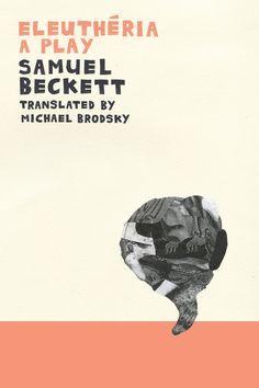 #Beckett #Eleutheria #book #cover 1995