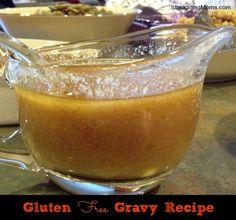 I love this Gluten Free Gravy recipe perfect for Thanksgiving dinner!