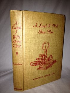 BOOK SALE Vintage Hardback Book A Land I Will by FloridaFinders, $5.00