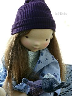 True love, best friends; Lux and her friend Rabbit will be available in the November 1st Dollectable stocking.