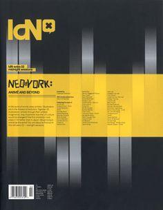 IdN Extra 02: Neo York Mightnight Sessions by IdN Magazine , via Behance