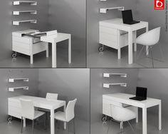 Kanapetko convertible desk.