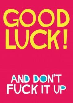 Good Luck Fuck 27