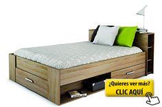 Oxygène - Estructura de cama con cajones (140 x... #cama