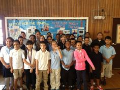 The students from Waterbury's Chase Elementary School, the same school Astronaut Rick Mastracchio's graduated from.