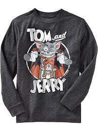 Boys Tom & Jerry™ Tees  #ManillaBack2School