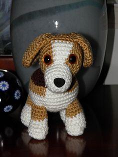 Lily Baby Beagle Amigurumi, free pattern on Ravelry