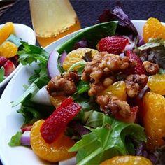 Strawberry and Mandarin Salad Allrecipes.com