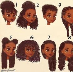 Expert Hair Care Tips For Any Age. Your hair might be your worst enemy, but it does not have to be! You can reclaim your hair with a little research and effort. First, identify your hair typ Natural Curls, Natural Hair Care, Natural Hair Types, Natural Hair Tutorials, Natural Hair Styles For Black Women, Black Girls Hairstyles, Cute Hairstyles, Tight Curly Hairstyles, Hairstyle Ideas