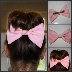 bow ribbon hairstyle #girlietrash