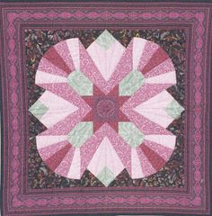 My first love in quilting will always be the design and making of traditional quilts using cotton fabric. I use a variety of techn. Pink Quilts, Cotton Quilts, Cotton Fabric, Traditional Quilts, Quilt Blocks, First Love, The Past, Blanket, Sewing