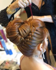 Boa noite amorés!❤️ . . . . #sonialopes #cabelo #penteado #noiva #noivas #casamento #hair #hairstyle #weddinghair #wedding #inspiration…