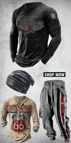 Up to 45% off! Men fashion long-sleeve T-shirt and accessories holiday sale for discount, free shipping on order $59. Shop now! #sale #men #outfits #accessories #shoes #shirt #tee #fall #winter #hoodie #tactical Men Shirts, Men Fashion, Motorcycle Jacket, Long Sleeve Shirts, Shop Now, Fall Winter, Free Shipping, Hoodies, Tees