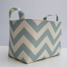 Fabric Organizer Storage Bin Container Basket  by BaffinBags, $18.00