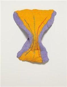 Untitled (Purple and Yellow) By Lynda Benglis ,1980