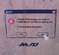 Funny pictures about The best stencil art in Afghanistan. Oh, and cool pics about The best stencil art in Afghanistan. Also, The best stencil art in Afghanistan. Funny Images, Funny Photos, Best Funny Pictures, Stencil Art, Stencils, Culture Jamming, Mesh Networking, Uber Humor, Most Asked Questions